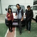Foto Penyerahan Unit 4 Sales Marketing Mobil Dealer Daihatsu Indramayu  Rosanti