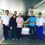 Foto Penyerahan Unit 8 Sales Marketing Mobil Dealer Suzuki Pekanbaru Rio