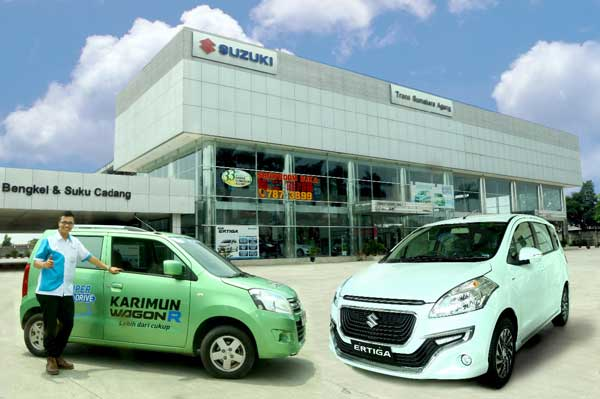 Sales Marketing Mobil Dealer Suzuki Medan Alfredo