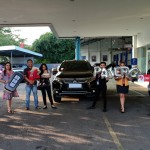 Foto Penyerahan Unit 1 Sales Marketing Mobil Dealer Mitsubishi Cilacap Ova