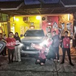 Foto Penyerahan Unit 5 Sales Marketing Mobil Dealer Mitsubishi Cilacap Ova