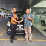Foto Penyerahan Unit 6 Sales Marketing Mobil Dealer Suzuki Pekanbaru Rio