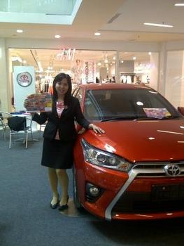 Sales Marketing Mobil Dealer Toyota Shinta