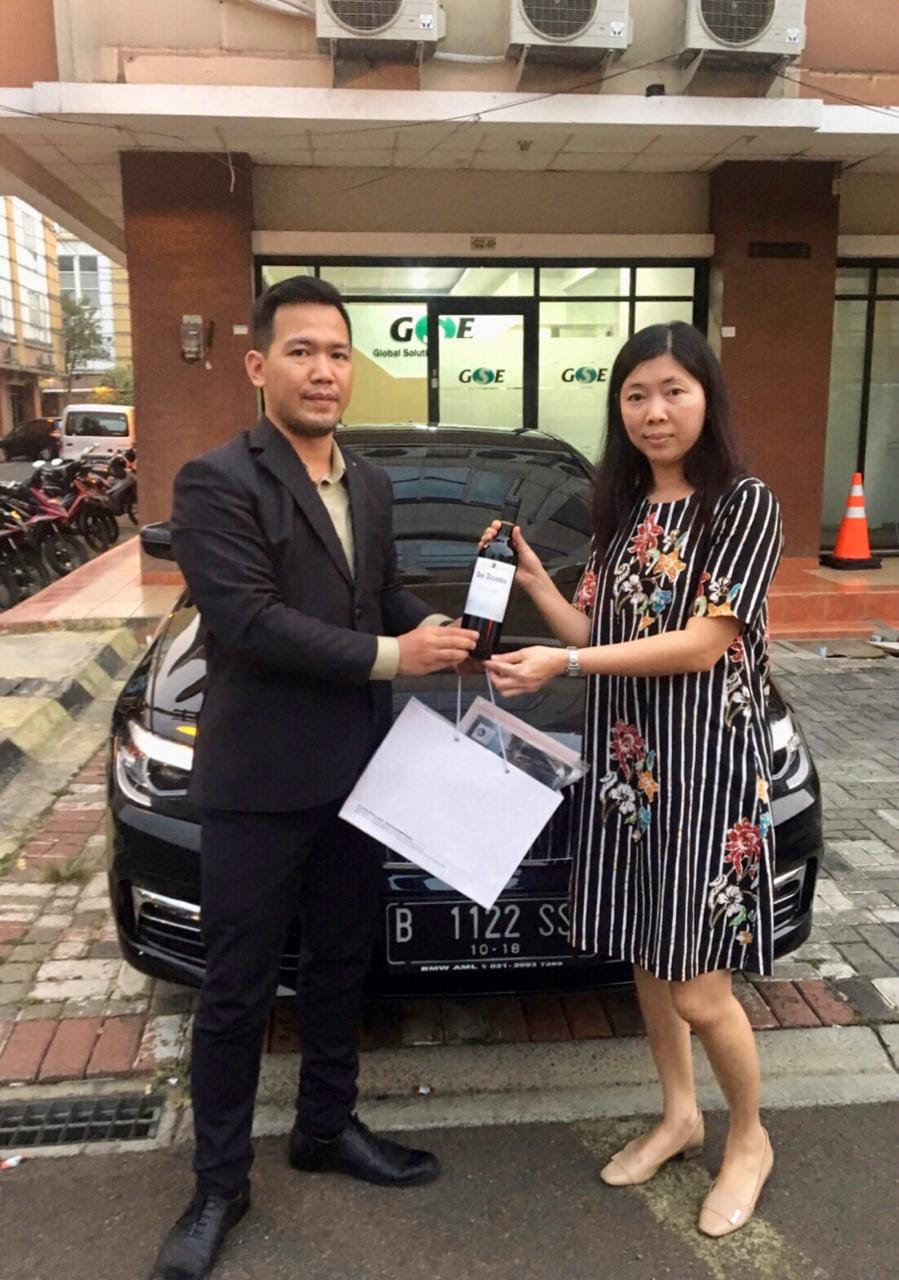 Sales Marketing Mobil BMW Afandi