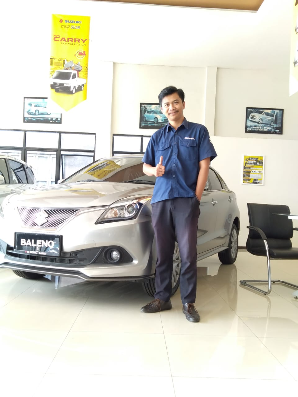 Sales Marketing Mobil Dealer Suzuki Arif