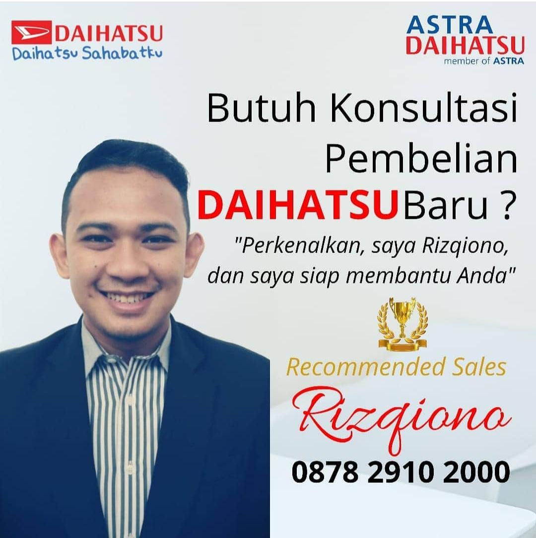 Sales Marketing Mobil Dealer Daihatsu Risqi