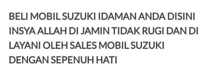 Suzuki Medan